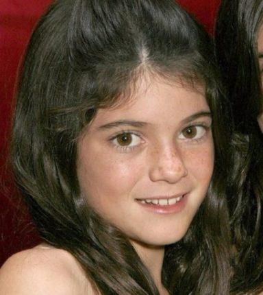 Кайли Дженнер в детстве фото