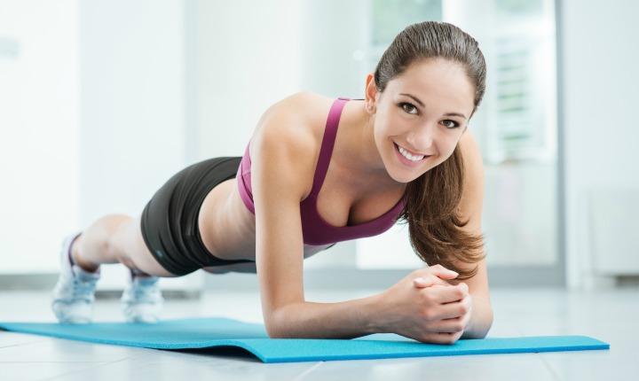 Тренировка для увеличения ягодиц и груди