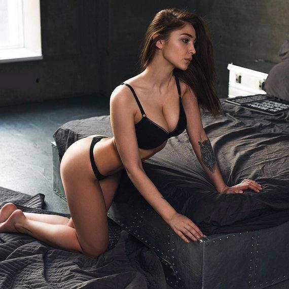 Анастасия Ивлеева в нижнем белье