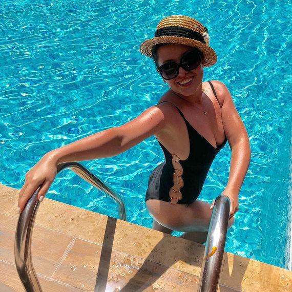 Мария Кравченко в купальнике фото