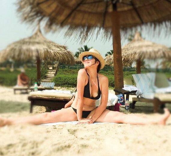 Алена Хмельницкая фото в купальнике