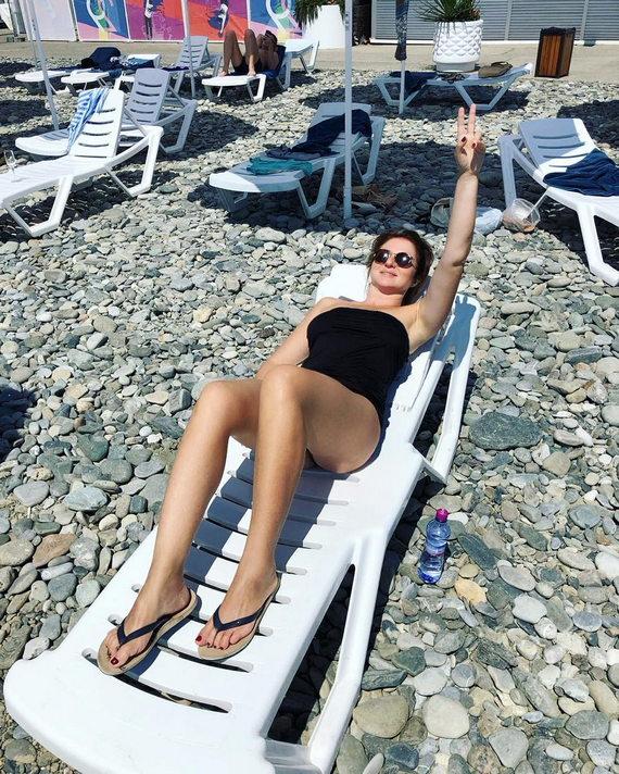 Анна Банщикова в купальнике фото