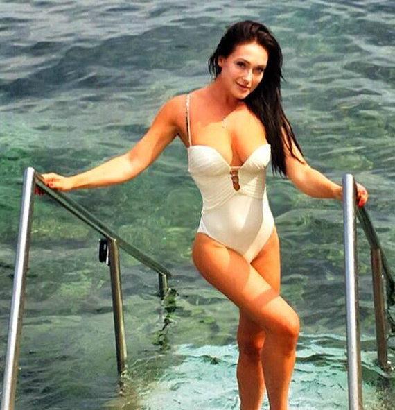 Елена Крайт фото в купальнике