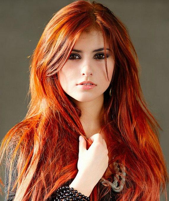 Как рыжей сделать натуральный цвет волос ярче
