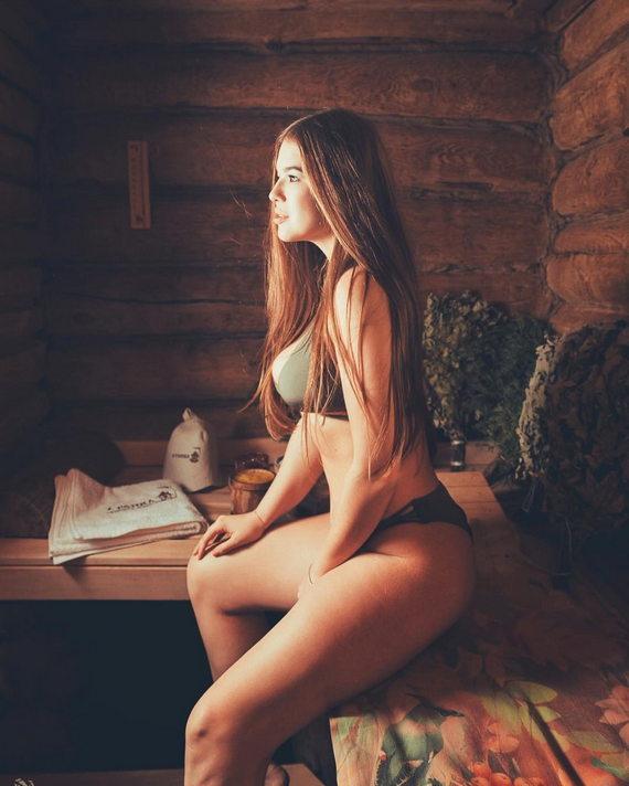 Мила Сайфутдинова в нижнем белье фото