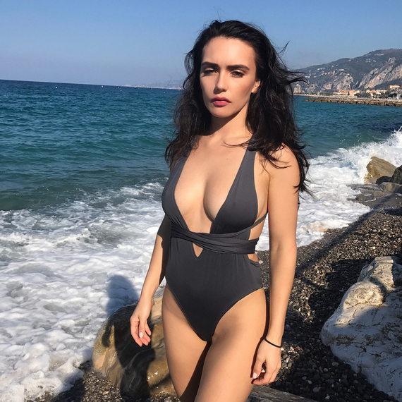 Ольга Серябкина фото в купальнике
