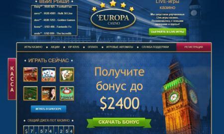 evropa kazino