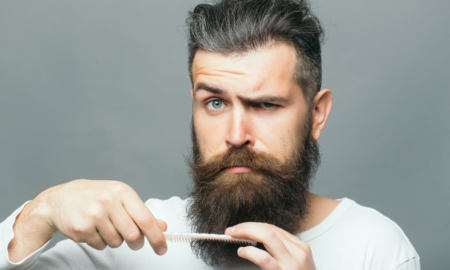 dry skin under beard mustache x