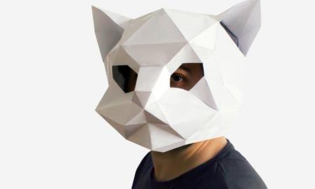 Kak sdelat masku iz bumagi