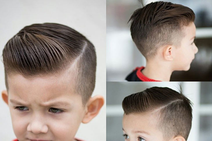 Side Swept Hairstyle